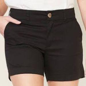 Old navy everyday shorts size 20 black